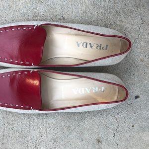 Prada loafers. Size 6.